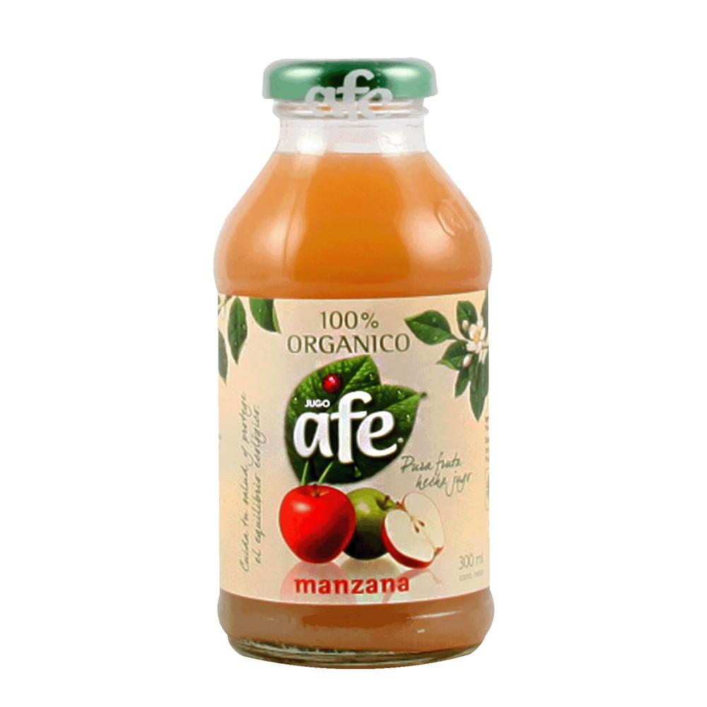Jugo de manzana orgánico