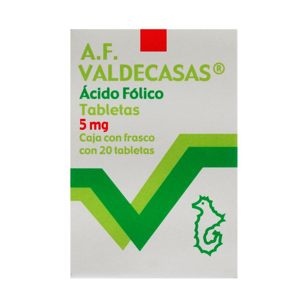 Acido-folico tabletas 5 mg