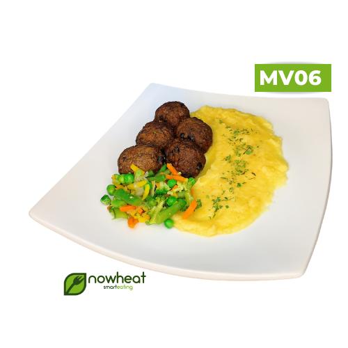 Mv06: almondêgas de grãos proteícos, purê mix 400g