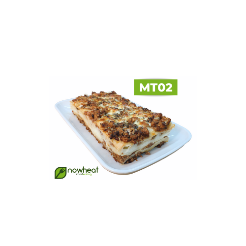 Mt02: lasanha de carne com queijo zero lactose 400g