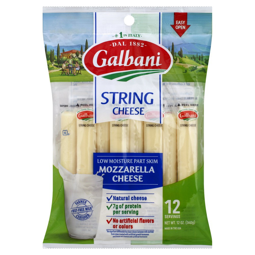 Galbani Stringsters Cheese High in Calcium
