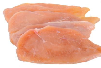 Filé de peito de frango fresco A granel