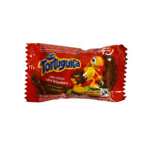 Chocolate com recheio sabor brigadeiro