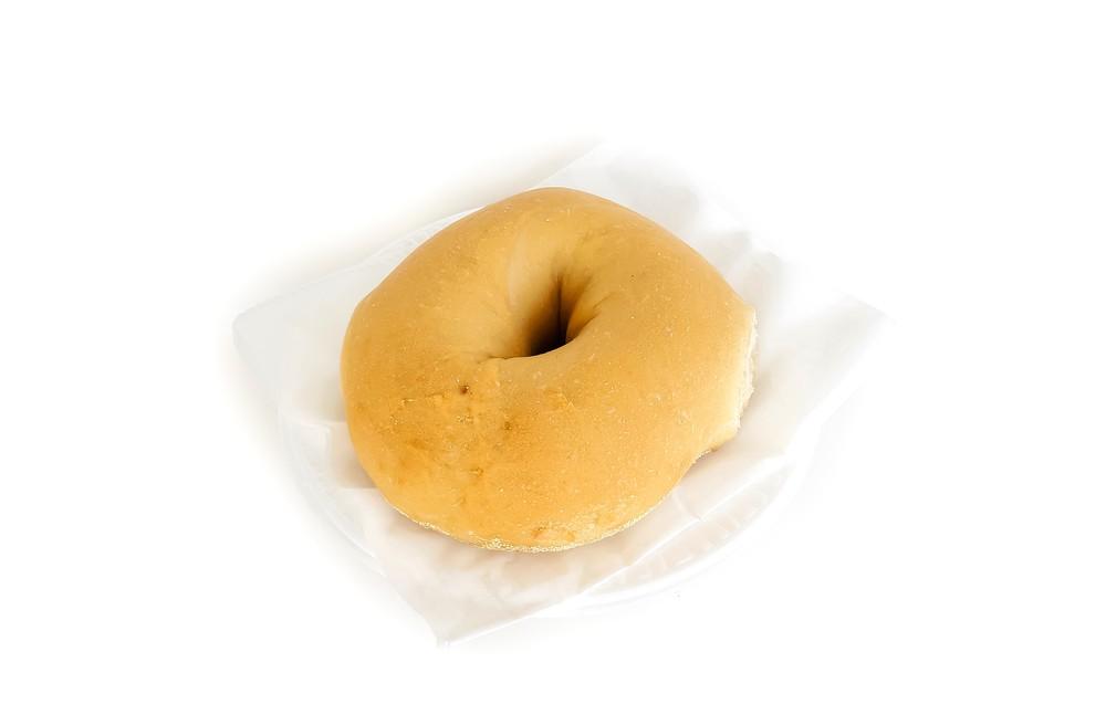 Plain bagel 6 pieces