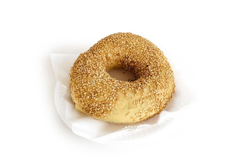 Sesame bagel 6 pieces