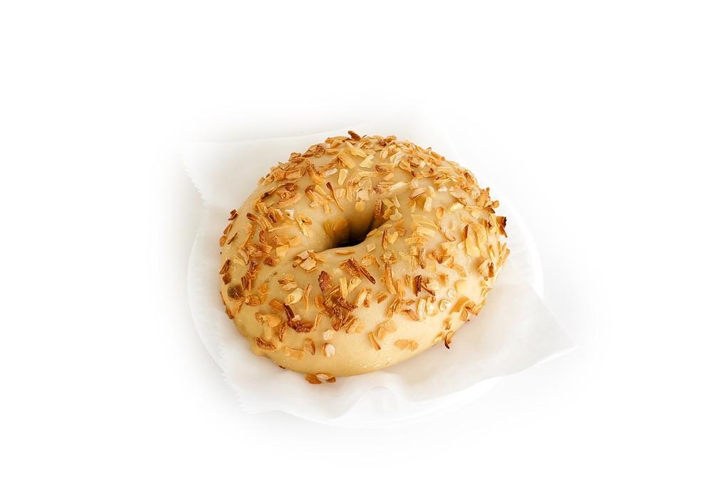 Onion bagel 6 pieces