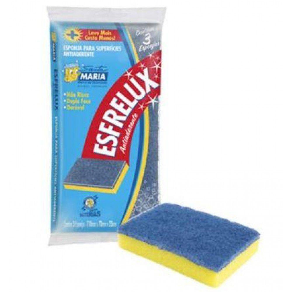 Esponja de lavar esfrelux