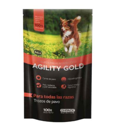 Trozos de pavo alimento para perros italcol 100 gr