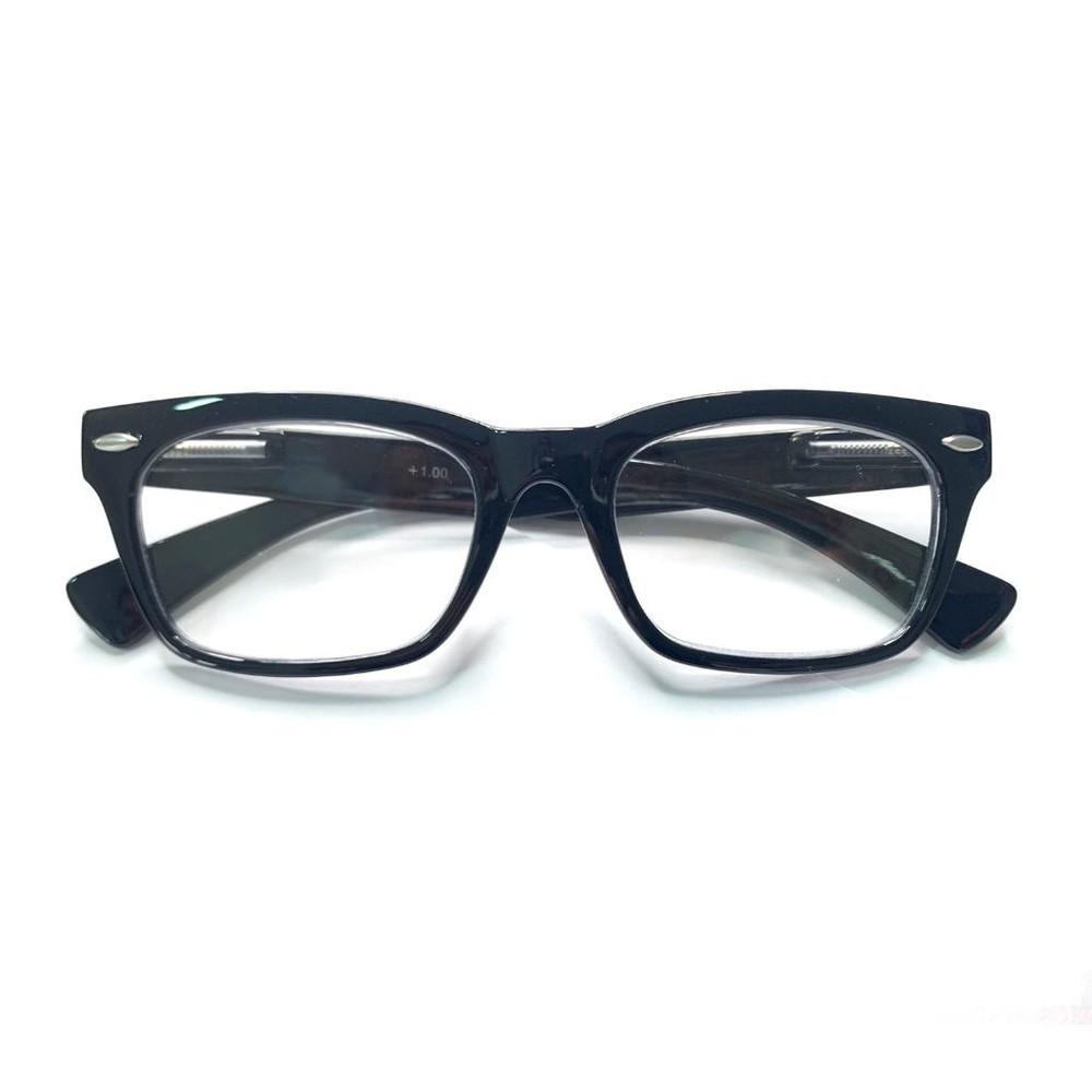 Anteojos ópticos negro +2.00 0,01