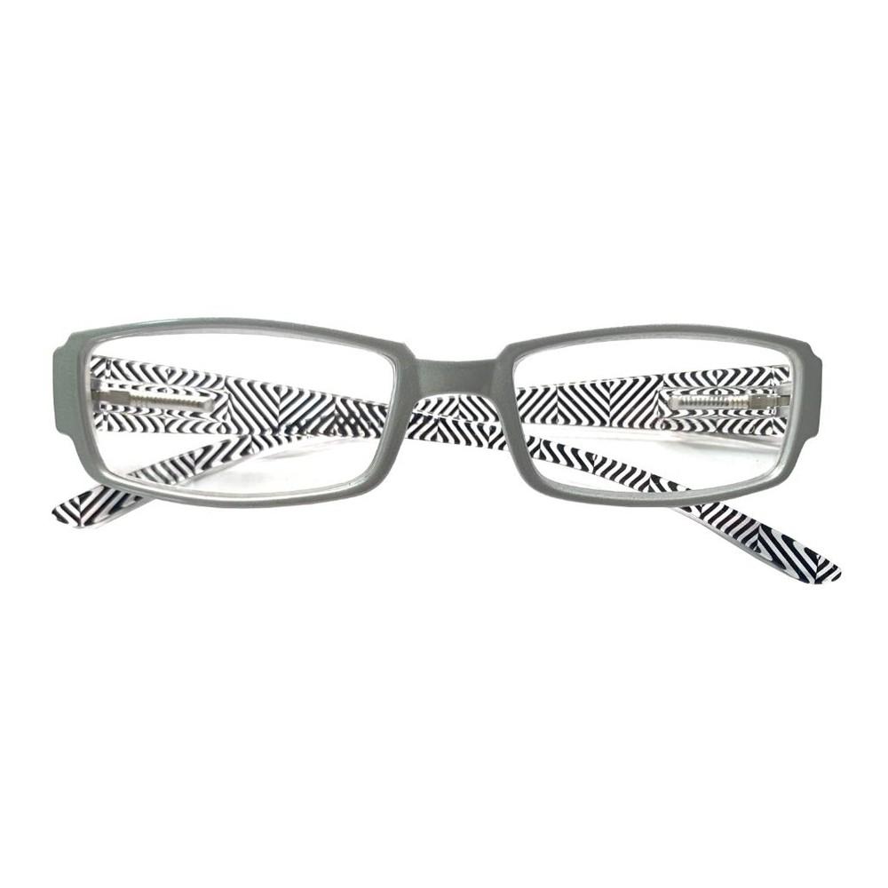 Anteojos ópticos gris +2.00 0,01