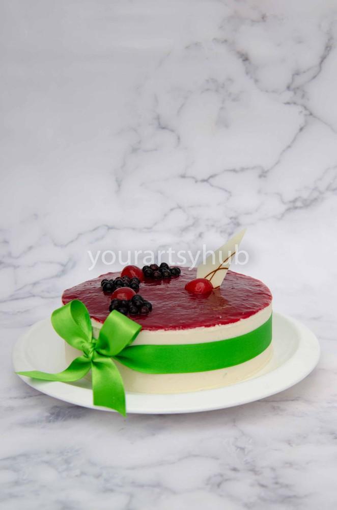 Cheesecake de agraz  1/3 (12 a 15 porciones) 1/3Lb