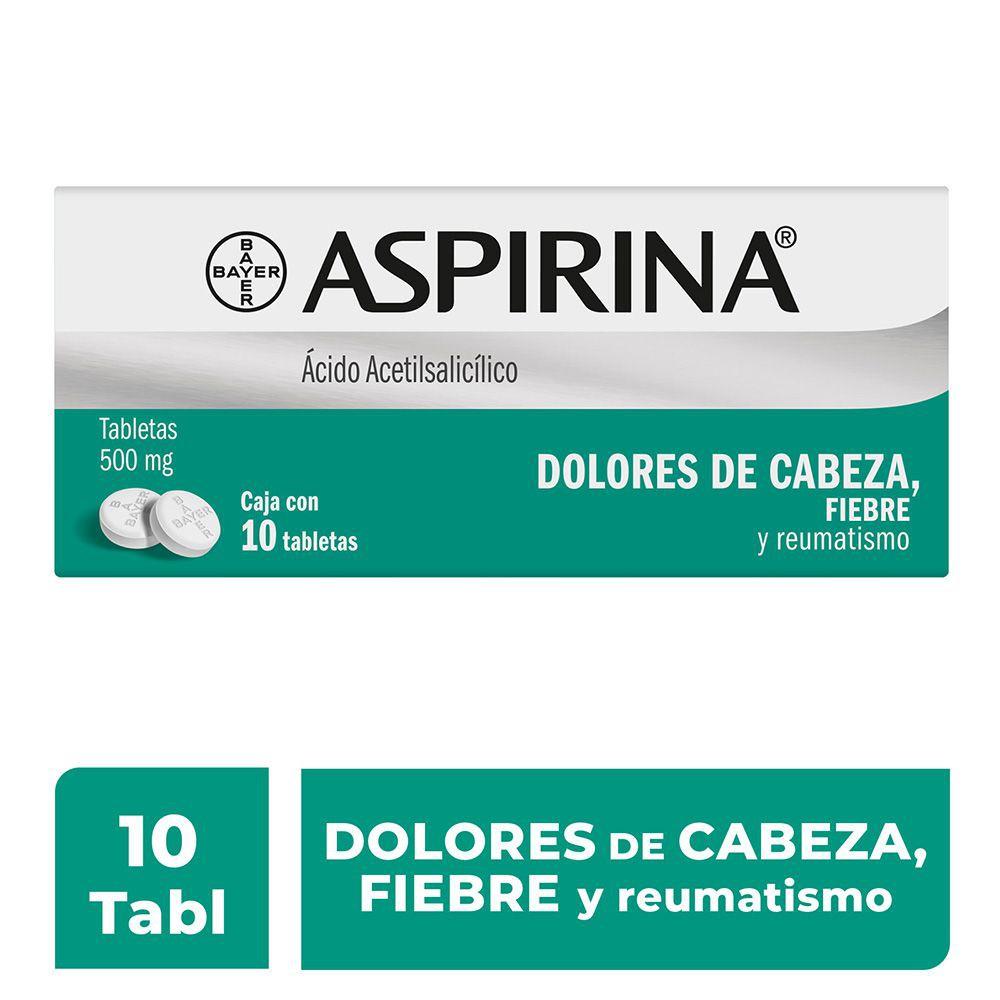 Analgésico acido acetilsalicílico 500m