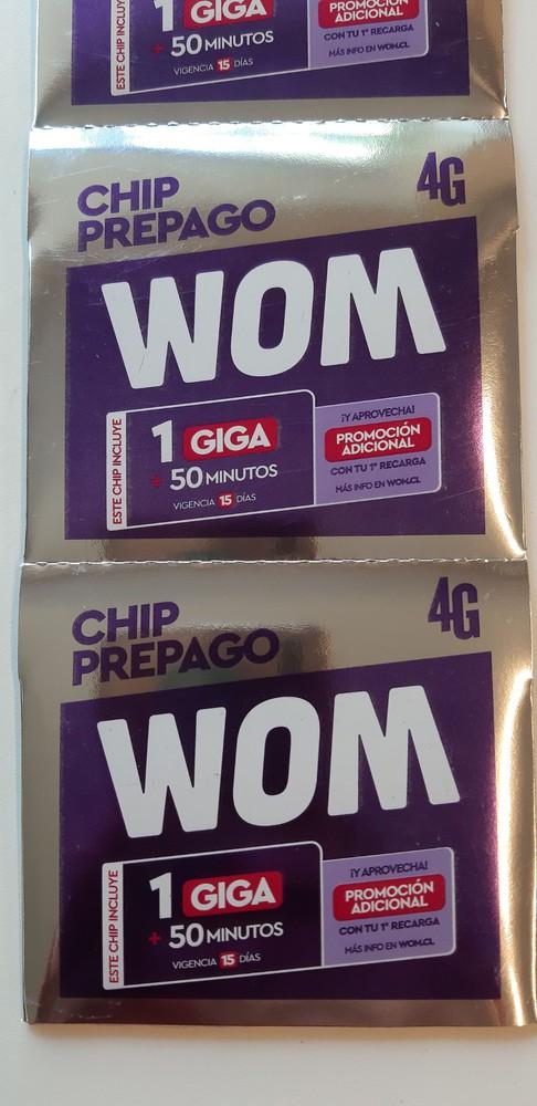 Chip prepago 4g