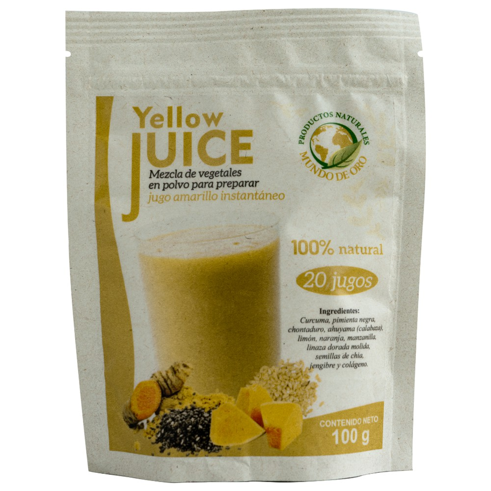 Yellow juice Bolsa 100 g