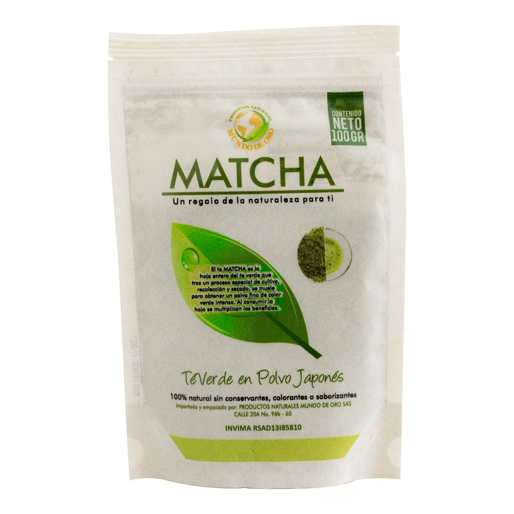 Matcha natural Bolsa 100 g