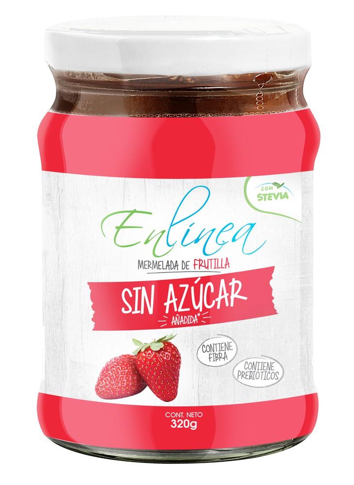 Mermelada sin azúcar sabor frutilla