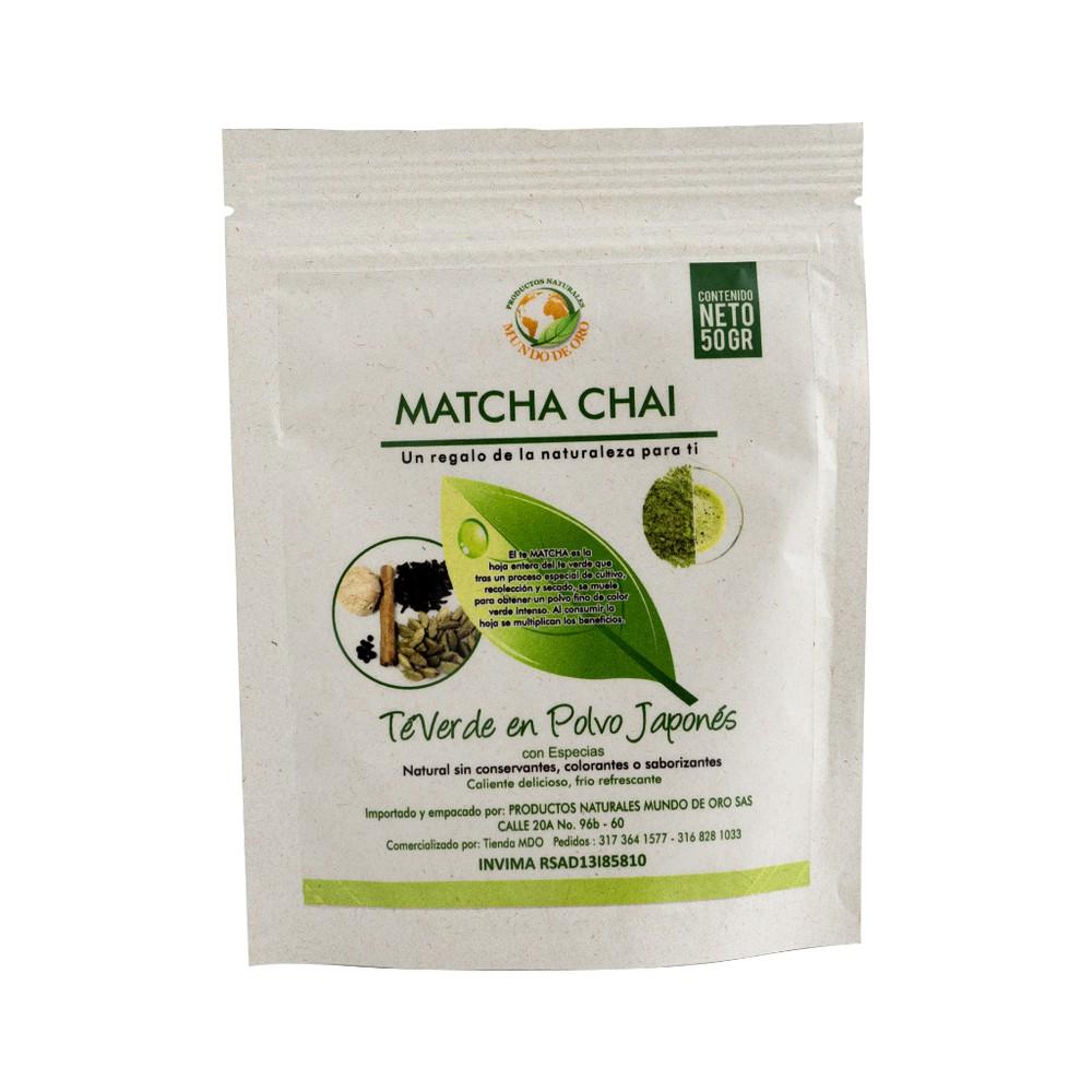 Matcha chai Bolsa 50 g
