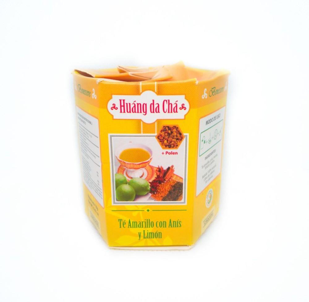 Colmena de te amarillo Caja x 12 unidades