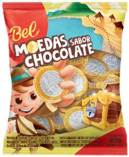 Chocolate moedas