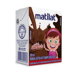 Bebida láctea uht sabor chocolate