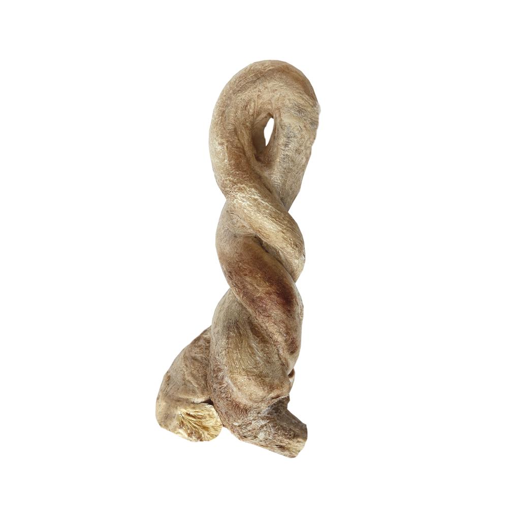 Vital essentials raw bar bully twist freeze-dried dog treat, 1-count