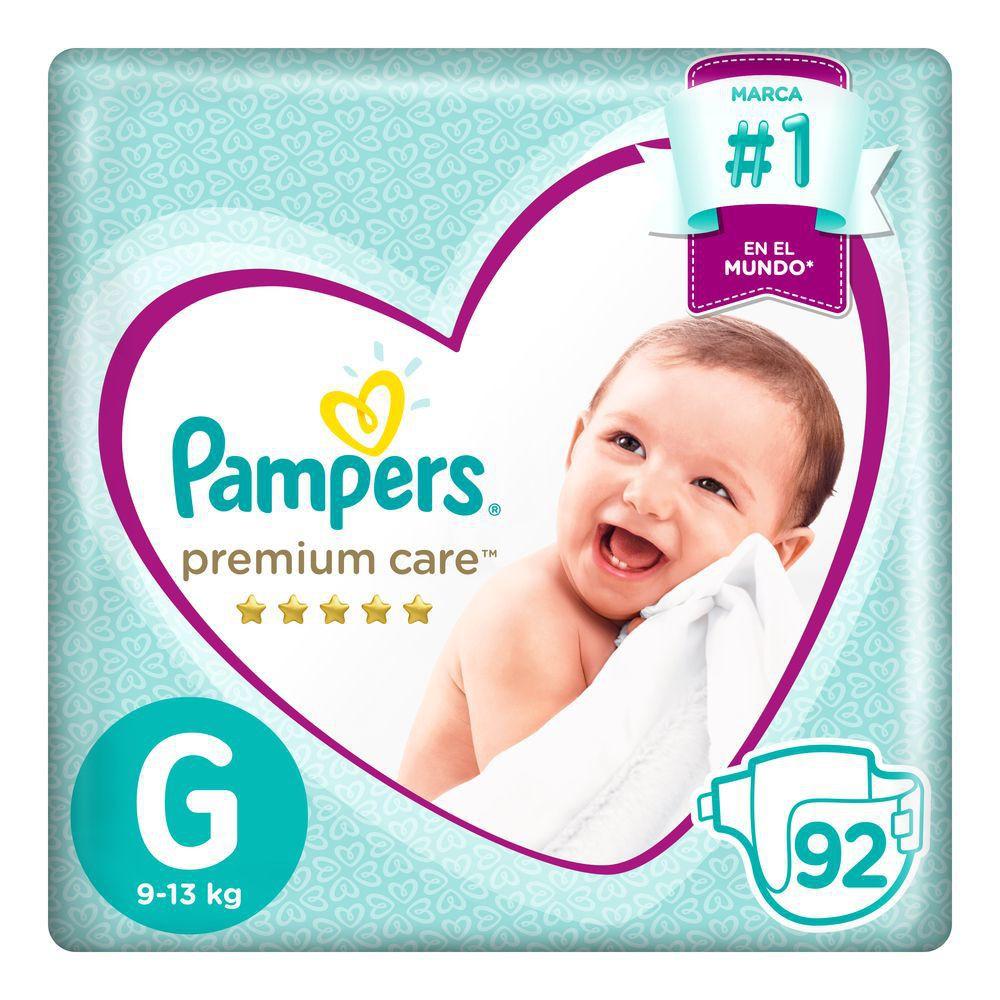 Pañales Premium Care talla G