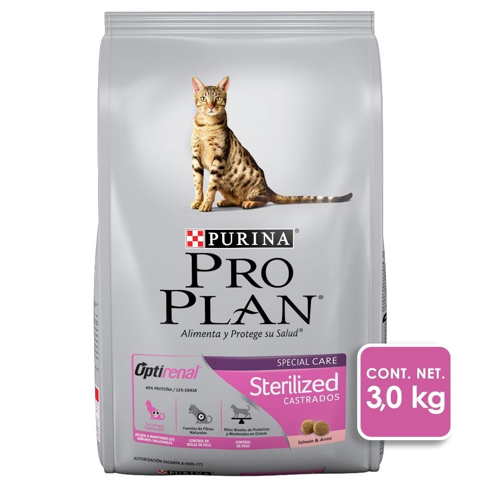 Alimento para gato sterilized optirenal