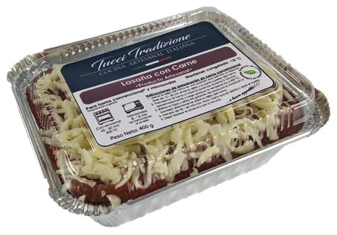 Lasaña con carne Individual (400 g)