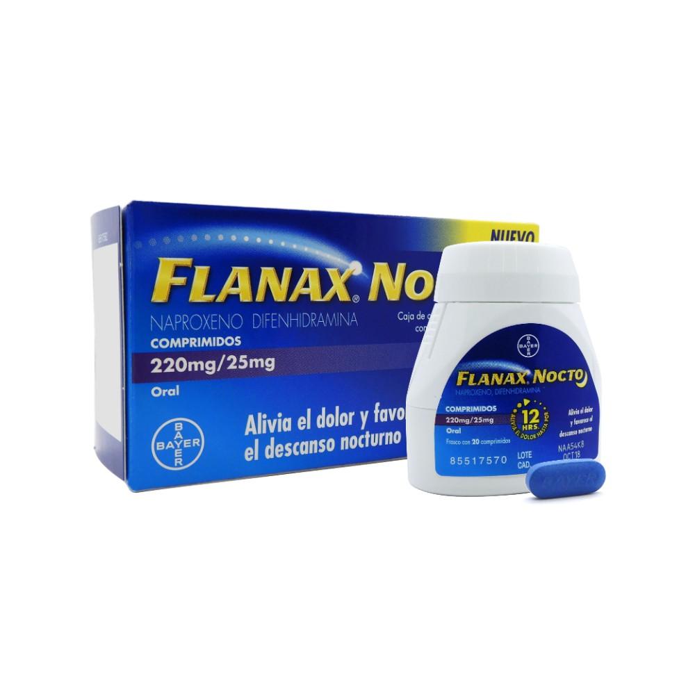 Antiinflamatorio naproxeno 220mg difenhidramina 25mg