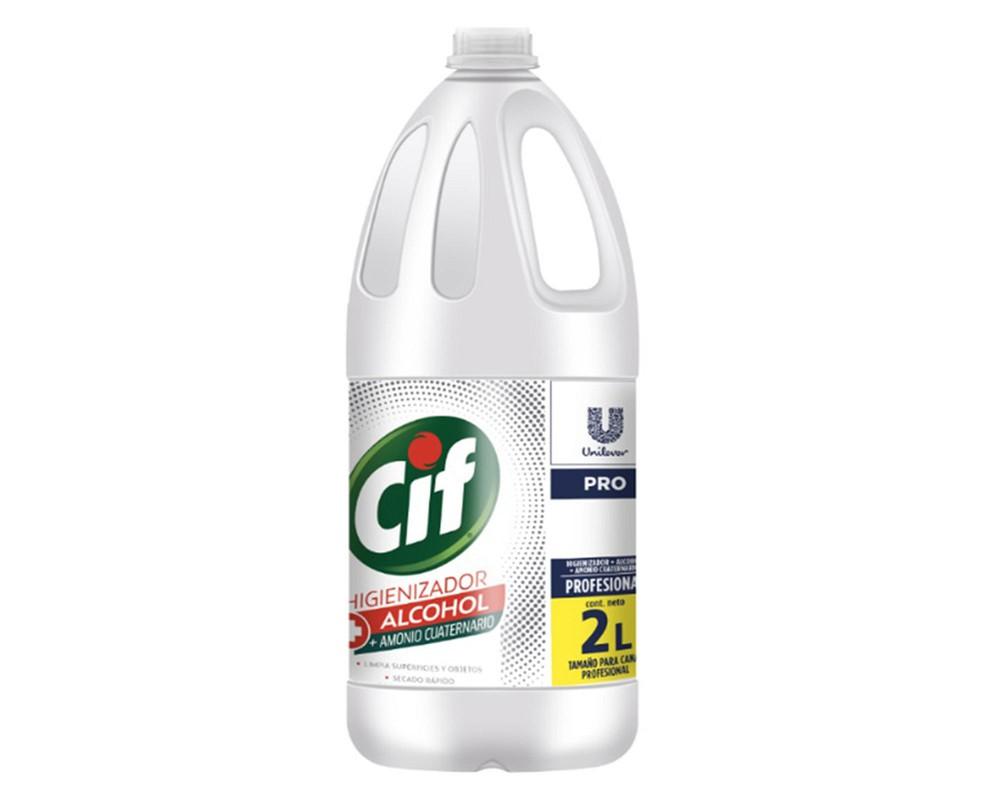 Amonio alcohol limpiador