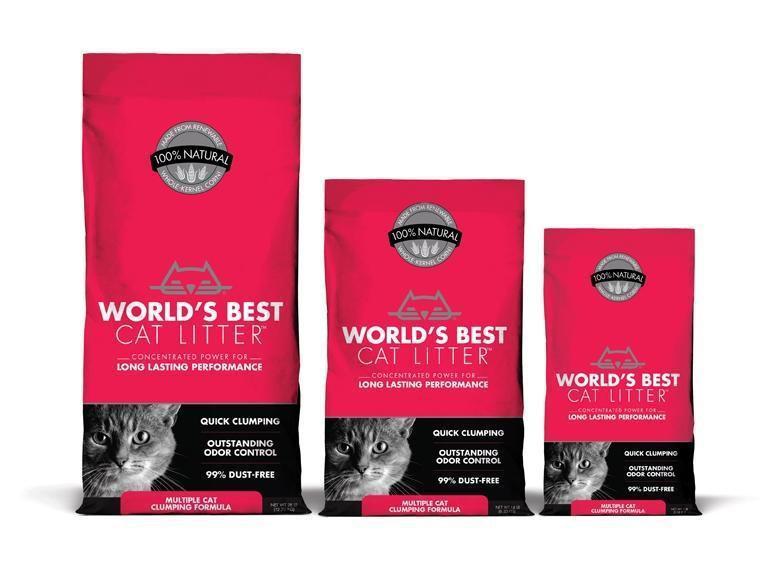 Multiple cat clumping formula cat litter