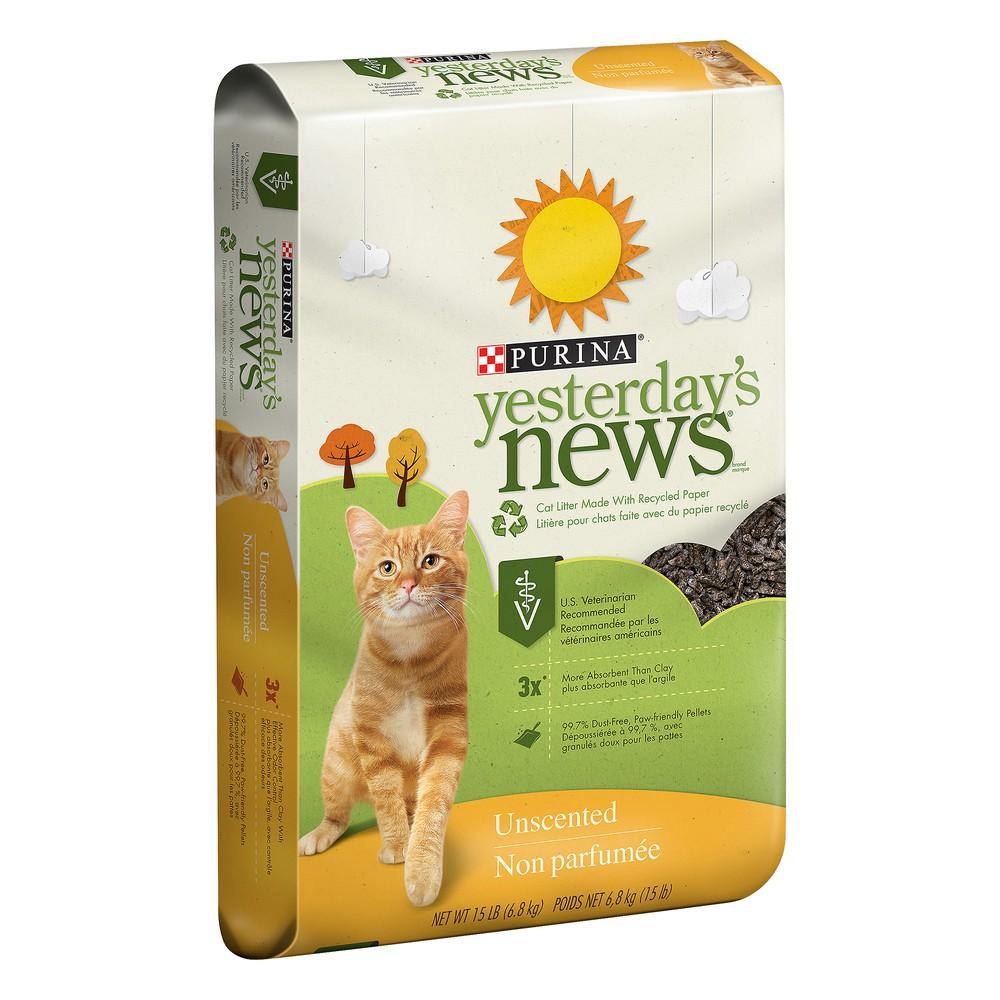 Cat litter, unscented