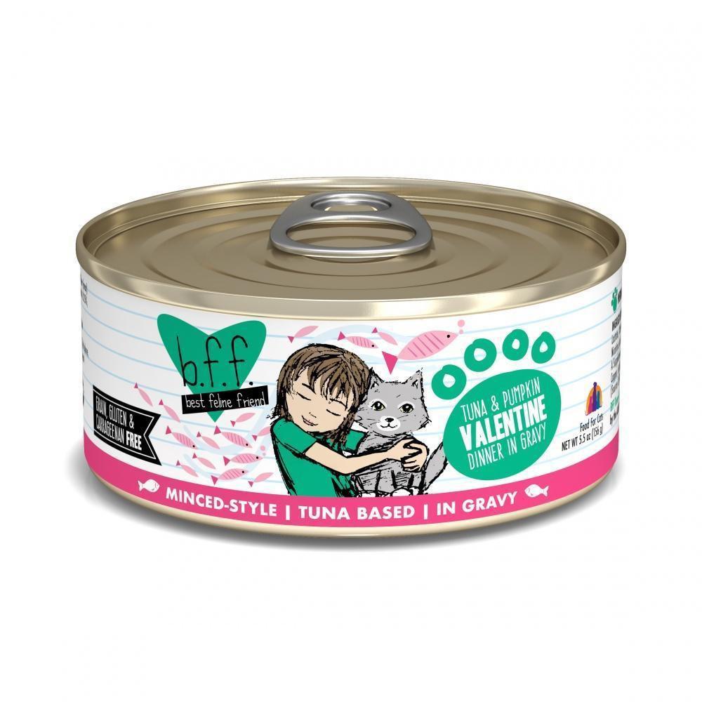 Bff tuna & pumpkin valentine canned cat food