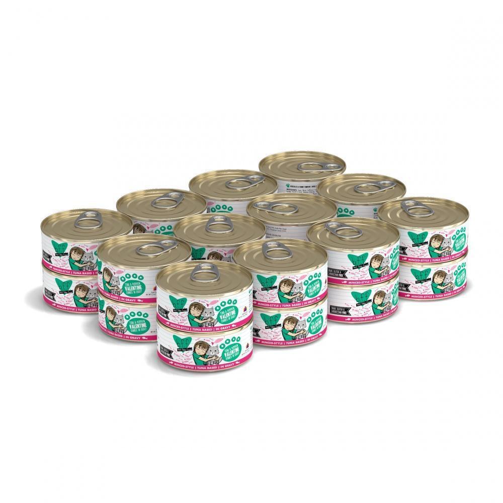 Bff tuna & pumpkin valentine canned cat food 5.5 oz