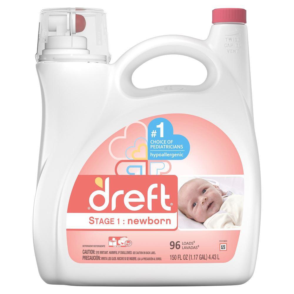 Detergente líquido Etapa 1 para bebés recién nacidos
