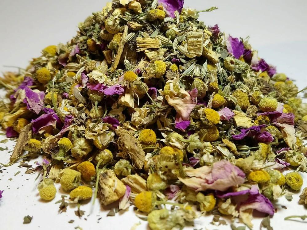Infusión de hierbas muñequita linda Bolsa por 50gr