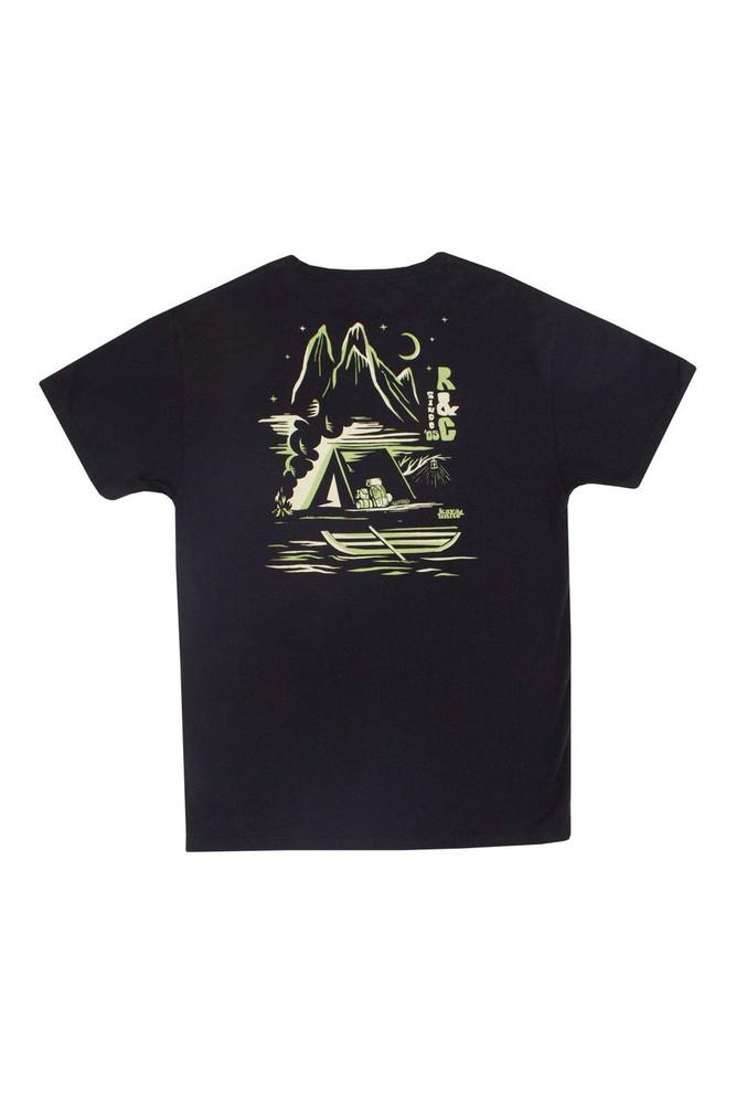 Tshirt wall black l Talla: L Color: Negro
