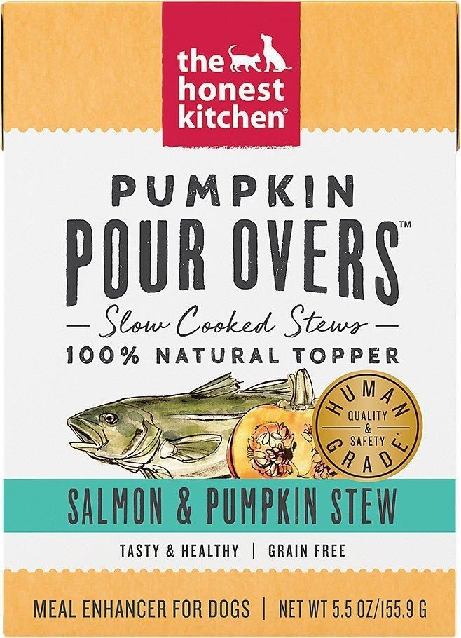 Pour overs pumpkin & salmon stew 5.5 oz