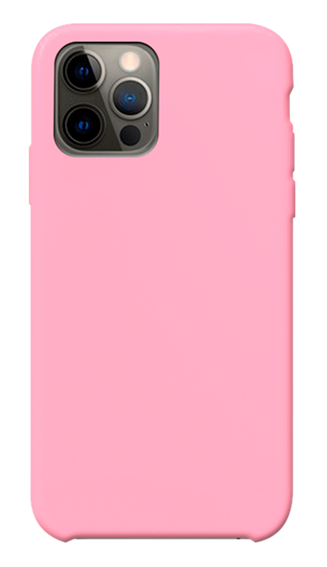 Carcasa new silicone pink Iphone 12 / 12 pro