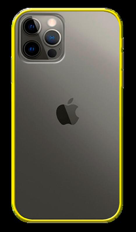 Carcasa edge eco yellow Iphone 12 / 12 pro