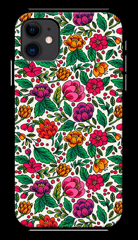 Carcasa hybrid ultra dura protección y resistente desing color garden Iphone 11
