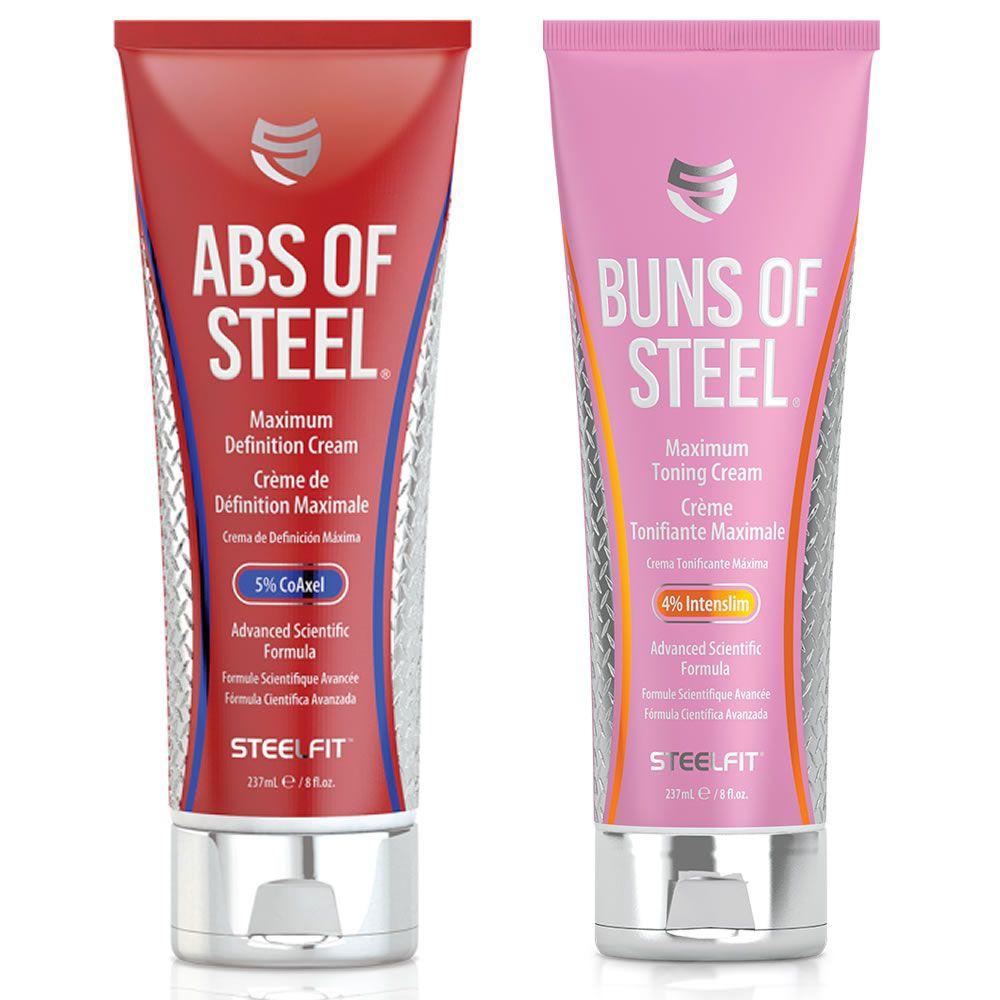 Abs of steel y buns of steel