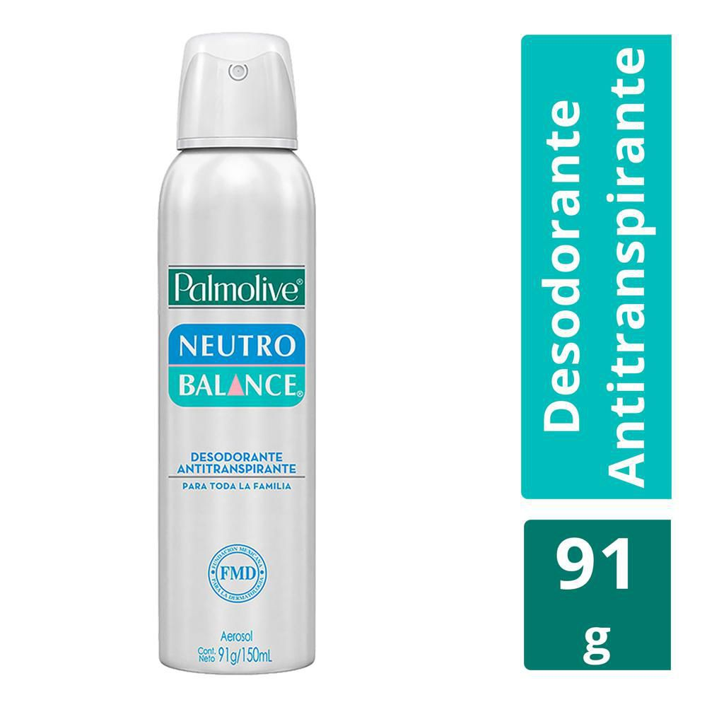 Antitranspirante neutro
