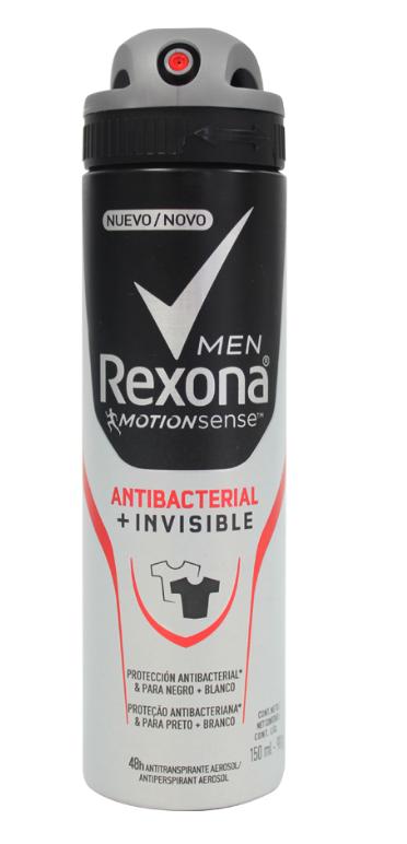 Antitranspirante hombre antibacterial + invisible