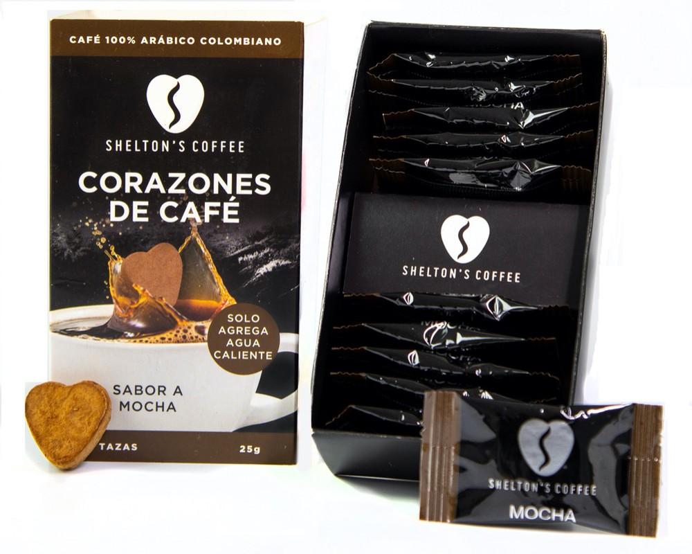 Coffee Hearts Mocha Caja de 10 Unds. 10 tazas