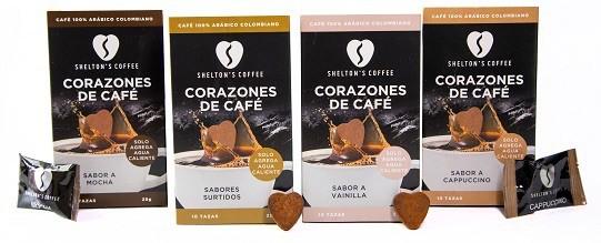 Combo 4a (Assorted, Mocha, Vanilla & Cappuccino) 4 Cajas, 10 Und c/u