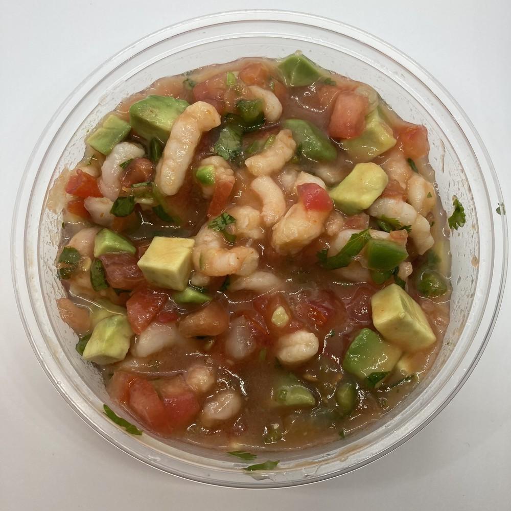 Shrimp ceviche - mild