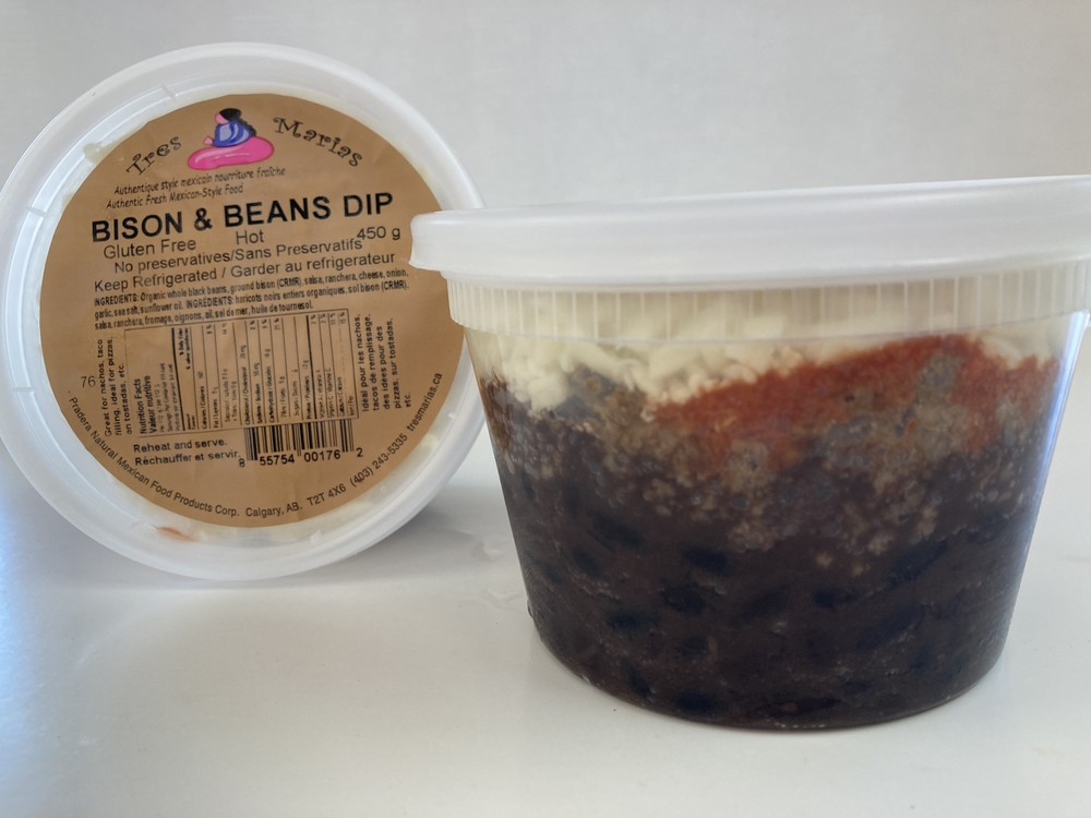 Bison & beans dip - extra hot
