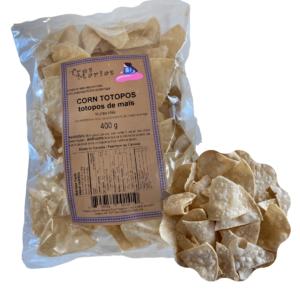 Corn totopos