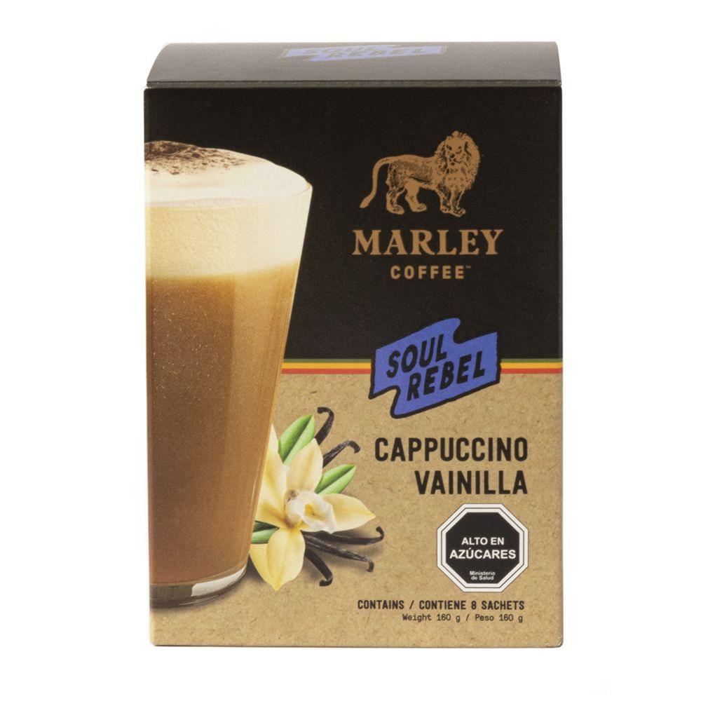 Cafe Soul rebel cappuccino vainilla Caja 160 g